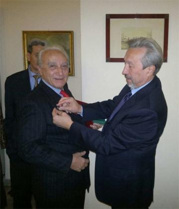 Vladimir Korotkov (a destra) e a Alfredo Barbaro